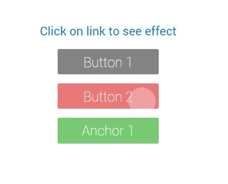 Animated Button with Material Design like Android Lollipop - Dwij